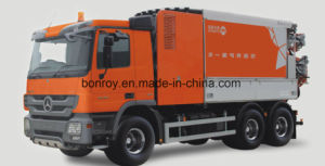High Pressure Euro 5 Commins Engine Vacuum Suction & Jetting Truck pictures & photos
