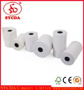 for ATM Machine 80X80mm Printer Receipt Rolls Thermal Paper Till Rolls pictures & photos