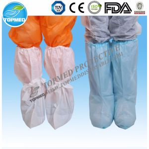Surgical Boot Cover with Elastic in ISO CE Standard pictures & photos