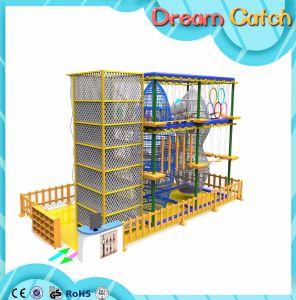 Kids Indoor Ropes Climbing Frameset for Mall pictures & photos