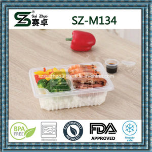 Wholesale Thicken Take Away Single Compartment Disposable Plastic Food Container pictures & photos
