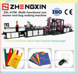 Non Woven Fabric Packaging Making Machine (Zxl-A700) pictures & photos
