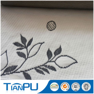 China Wholesale 100% Polyester New Pattern Design Jacquard Fabric for Mattress Protector pictures & photos