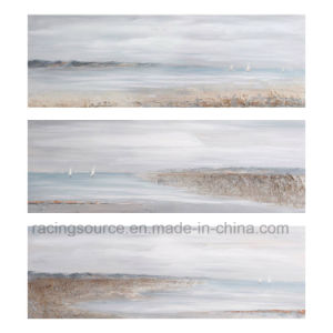 Wall Decor Landscape Canvas Printing Coastal Canvas Oil Painting pictures & photos