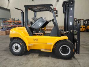 IC Diesel Forklift Capacity 7000kgs 7 Ton pictures & photos