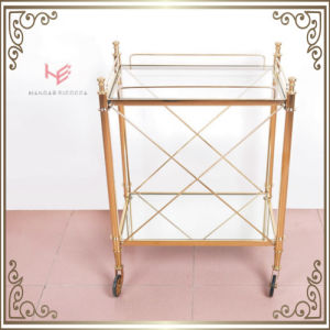 Liquor Cart Trolley (RS150503) Trolley Stainless Steel Furniture pictures & photos