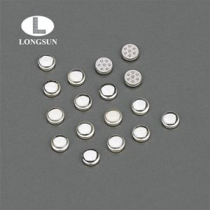 Tri-Metal Welding Electrical Button Contacts/CuNi Alloy Contact pictures & photos