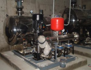 Water Booster Pump System for Building pictures & photos