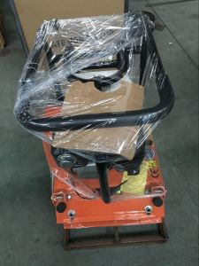 Reliable Hot Sell Honda Engine Petrol Vibrating Plate Compactor for Road Construction pictures & photos