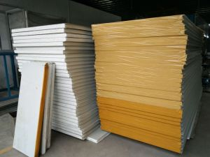 Sandwich Style Wall Panel Polystyrene or Rock Wool pictures & photos