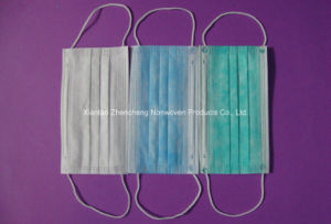3 Ply PP Nonwoven Disposable Mask pictures & photos