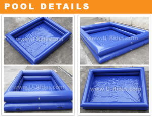 Inflatable Double Tube Swimming Pool pictures & photos