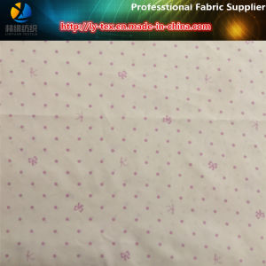 DOT & Bowknot Printed Polyester Taffeta Fabric pictures & photos