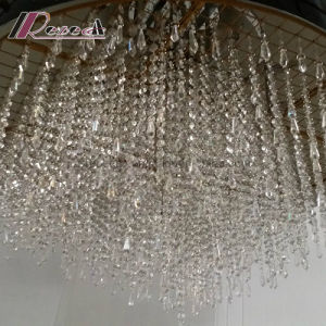 Modern Unique Oval Crystal Pendant Lamp for Luxury Hotel pictures & photos