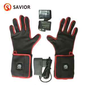 Super Slim 3 Level Heating Rechargeable Battery Heated Glove Liners(Unisex) pictures & photos
