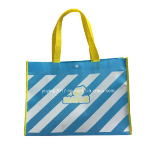 Customize Fashion Tote Non Woven Shopping Bags (YYNWB082) pictures & photos