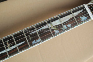 Hanhai Tobacco Sunburst Prs Style Electric Guitar with Abalone Binding pictures & photos