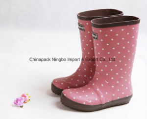 2017 Fashion Cute Rain Boots Rubber Rain Boots Ladies Boots pictures & photos