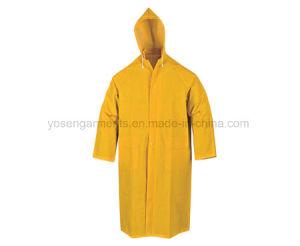 PVC/Polyester Waterproof Workwear Rain Coat (RWB02) pictures & photos