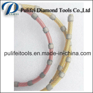 Granite Block Cutting Marble Stone Quarrying Diamond Wire Saw