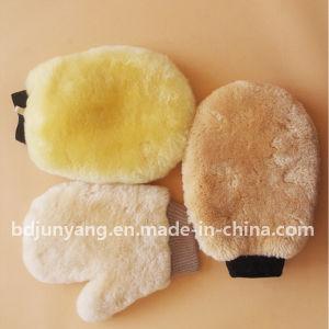 100% Nature Merino Wool Wash Mitt pictures & photos
