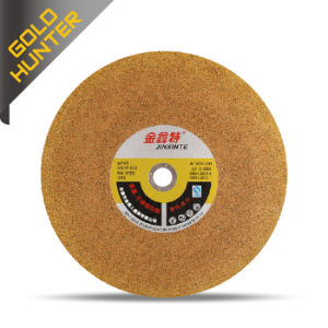 Jinxinte Yellow Ultrathin Cutting Wheel for Stainless Steel pictures & photos