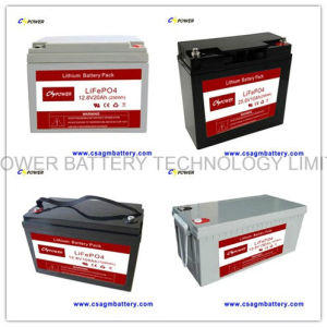 Supplier 12V50ah Lithium Iron Phosphate Battery for Power Storage pictures & photos