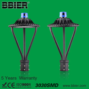 ETL UL Dlc 12000lm 100watt LED Post Top Lamp with 5 Years Warranty pictures & photos