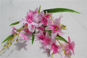 Natural Touch Cheap Artificial Silk Flower Bouquet for Sale pictures & photos