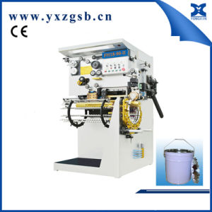 Semi-Automatic Backward Welding Machine of Tin Round Pail Can pictures & photos