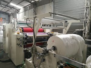 High Speed Glue Lamination Hand Towel Making Machine pictures & photos