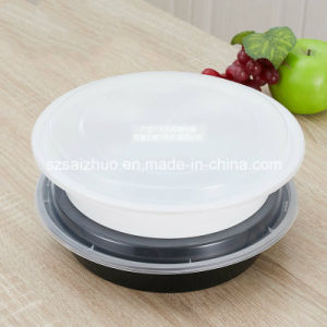 1200ml Round Disposable Plastic Food Bowl pictures & photos
