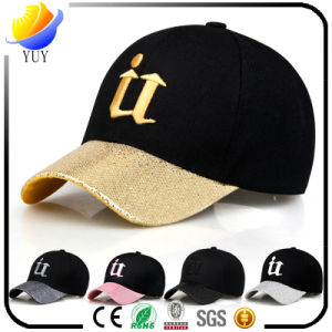 Customized Hot Sell Cotton Flat Visor Fashion Cap Sports Hat pictures & photos