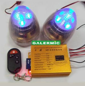 Motorcycle Audio Alarm MP3 with 2 Speakers pictures & photos