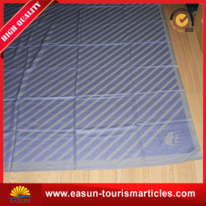 Promotional 100% Wholesale Cotton Woven Throw Blanket pictures & photos