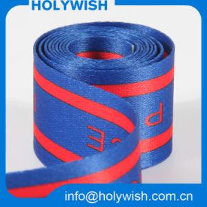 Custom Polyester Sublimation Ribbon for ID Badge Lanyard Design