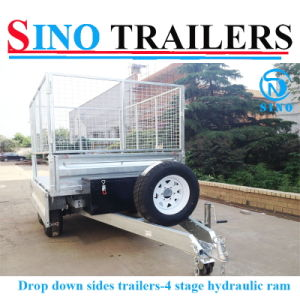 Hot Sale Best Quality Factory Hydraulic Tipping Trailers pictures & photos