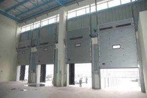 Sectional Door with Man Door 9*9 Sectional Garage Doors (Hz-SD015) pictures & photos