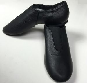 Brown Pigskin/Cow Leather Jazz Shoes for Unisex Child and Adult pictures & photos