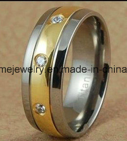Fashion Stainless Steel Titanium Finger Ring Jewellry pictures & photos