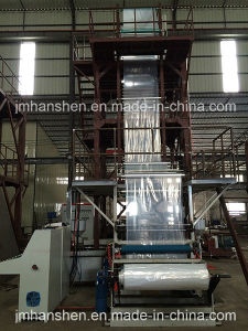 Two-Layer LLDPE Plastic Film Making Machine pictures & photos
