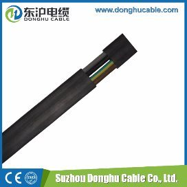 PVC Flat Flexible Electric Cable pictures & photos