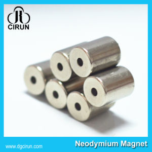 Custom Ring Cylinder Strong Permanent NdFeB Neodymium Magnet pictures & photos