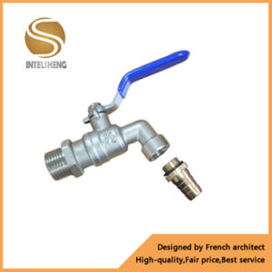 "Bibcock Brass Ball Valve with 3/4""Inch NPT Thread pictures & photos"
