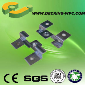 Stainless Steel Clip for WPC Decking Board pictures & photos
