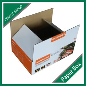 Custom Print White Corrugated Packing Boxes pictures & photos