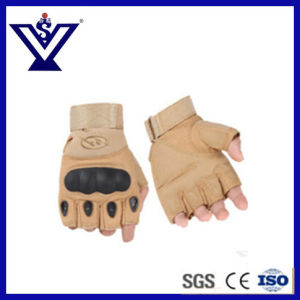 Military Trainning Half-Finger Tactical Gloves in Good Quality (SYSG-243) pictures & photos