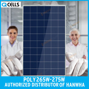 Q-Cells PV Poly Solar Panel 265W 270W 275W for Solar Lighting System pictures & photos