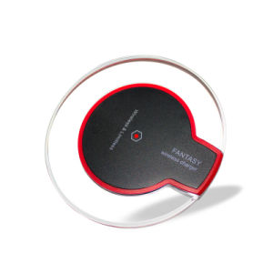 Qi Standard 5V 1A Wireless Charging Pad Crystal Wireless Charging Transmitter UFO Crystal Wireless Charger pictures & photos