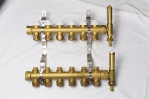Smart Distribution Underfloor Heating Manifold Brass pictures & photos